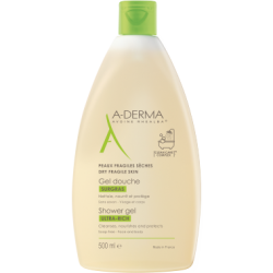Aderma Overgrassy Shower Gel 500 ml