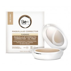 Be+ Compact Makeup Corrector Ölfrei SPF20 Light Skin 40 ml
