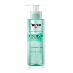 Eucerin huile de dermopure Control gel nettoyant facial de 200 ml