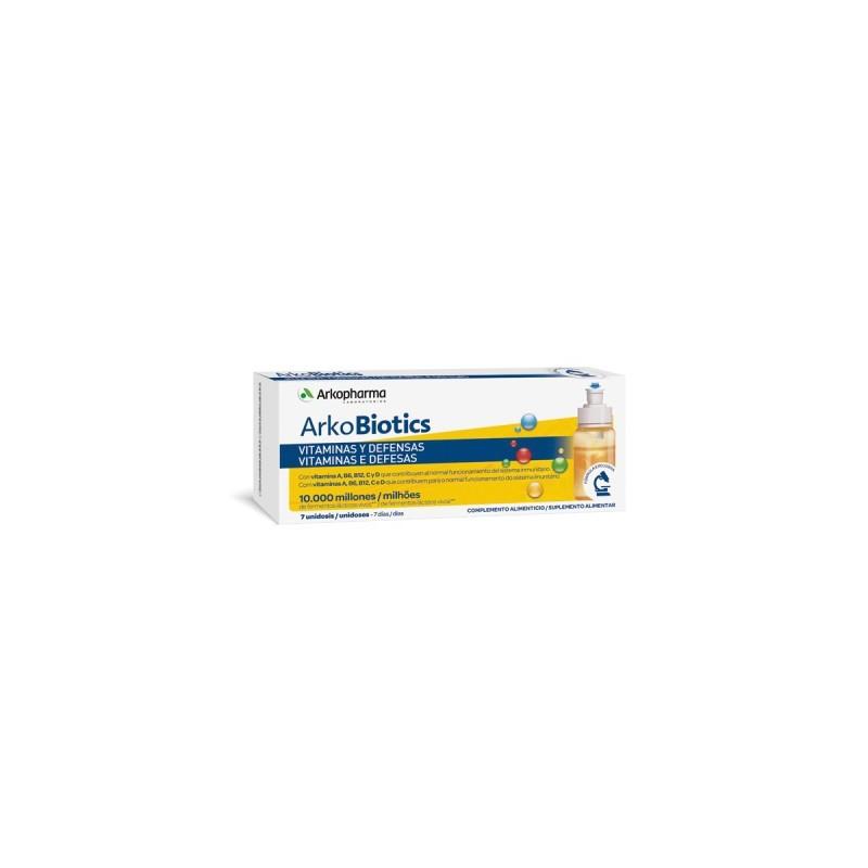Arkobiotics adultos vitaminas y defensas 7 unidosis
