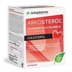 Riso Arkosterol rosso Lievito 120 Capsule