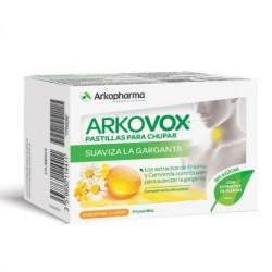 Arkovox Propolis Miel Limon 24 Pastillas S/Azucar