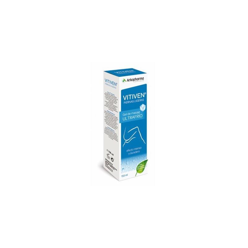 Vitiben piernas ligeras 150 ml gel de masaje ultrafrío