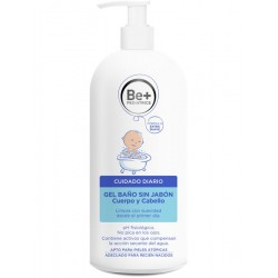 Be- Pediatria Gel Bath Senza Jabon 500 ml