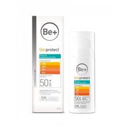 Be+ Gel facial Piel Grasa SPF50+ 50ml