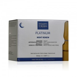 Martiderm Platinum Night Renew 30 Ampoules