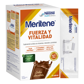 Nestle Meritene sabor chocolate 15 sobres
