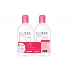 Bioderma Sensibio H2O Duplo Micellar Lösung 2x500 ml