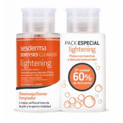 Sesderma Sensyses Lightening Make-up Remover for Face and Eyes Duplo 2X200 ml