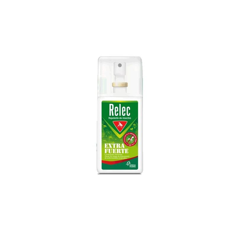 Relec extra fuerte spray antimosquitos 75 ml