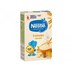 Nestle Papilla 8 Cereals with Honey 600 g