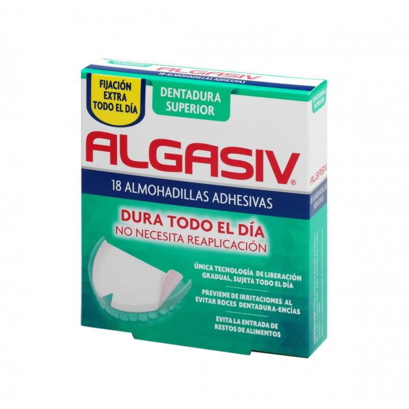 Algasiv Almohadillas dentadura superior  18 unidades