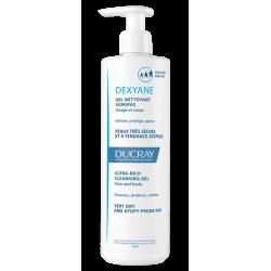 Ducray Gel Dexyane Overgrass Nettoyage 400 ml