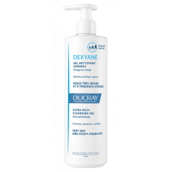 Ducray Dexyan Gel Overgrass Cleansing 400 ml