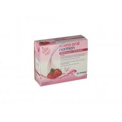 Normon Suero Oral Sabor Fresa 2x250 ml