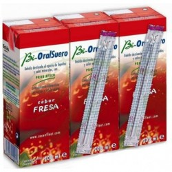 Bioralsuero Fresa Pack 3x200 ml