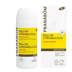 Pranarom Roll-On Citronela Plus Latte per il corpo 30 ml