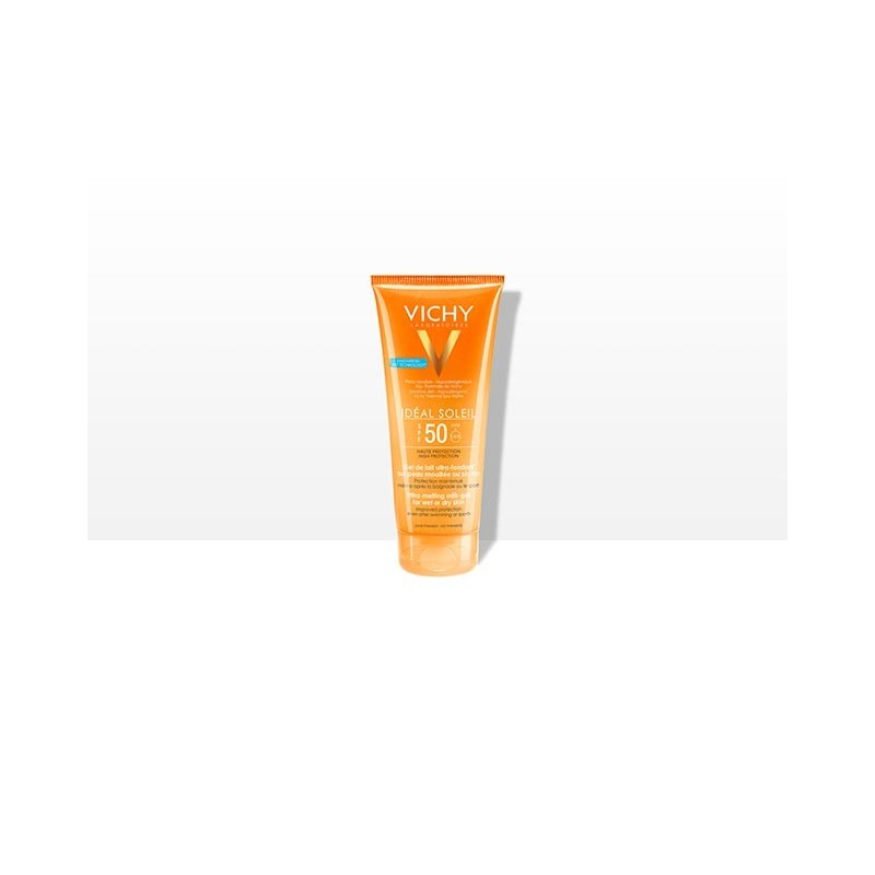 Vichy leche solar familiar ip 50 300ml + crema facial spf 50 + aftersun100 ml