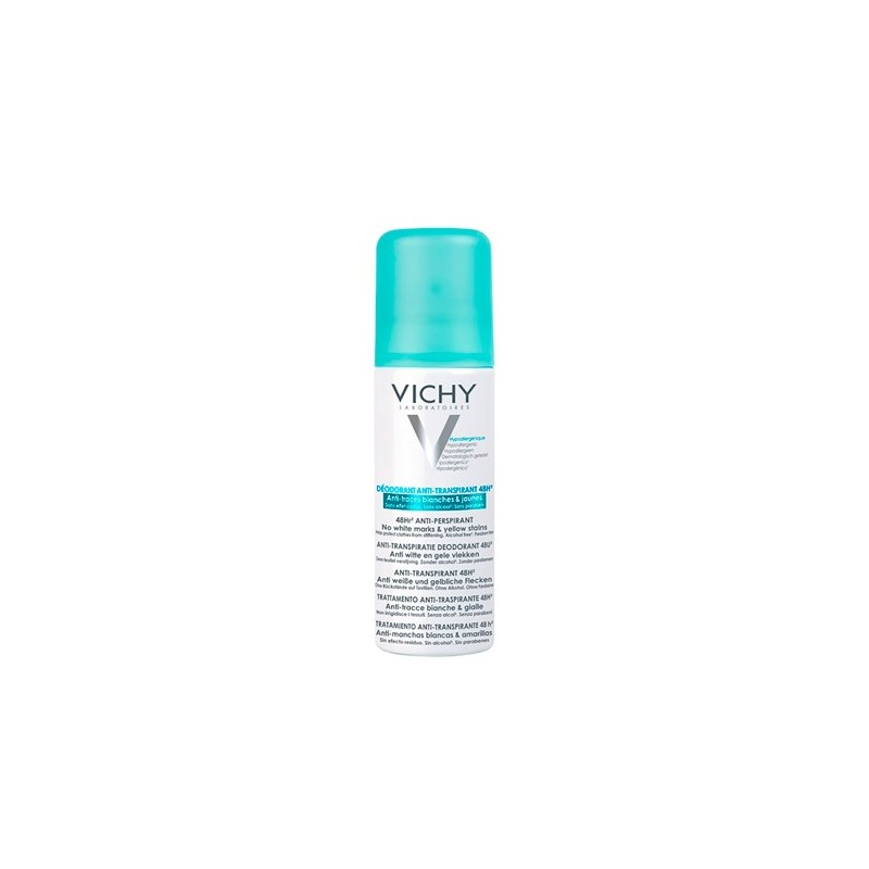 VICHY Desodorante Aerosol Anti-Transpirante 48 H 125 ml