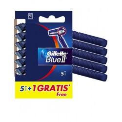 Gillette Blue II Rasoir jetable 6 Unités
