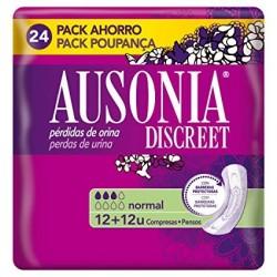 Ausonia Discreet Compress Normal 24 Units