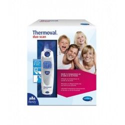 Thermoval Duo Scan Termometro Oido y Frente
