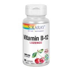 Solaray Vitamin B12 90 Tablets