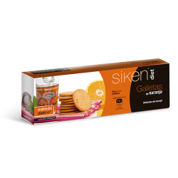 Sikendiet Orange Biscuits 15 Units