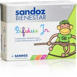 Sandoz Wellness Bifidus JR 10 Envelopes