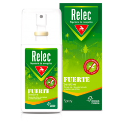 Relec Strong Sensitive Spray Antimosquitos 75ml