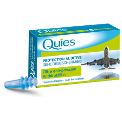 Quies Tapones Proteccion Auditiva Para Avion 1 Par