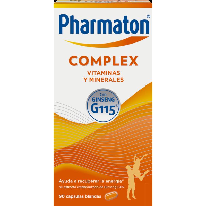 Pharmaton Complex 60 Cápsulas + Gratis 30 cápsulas