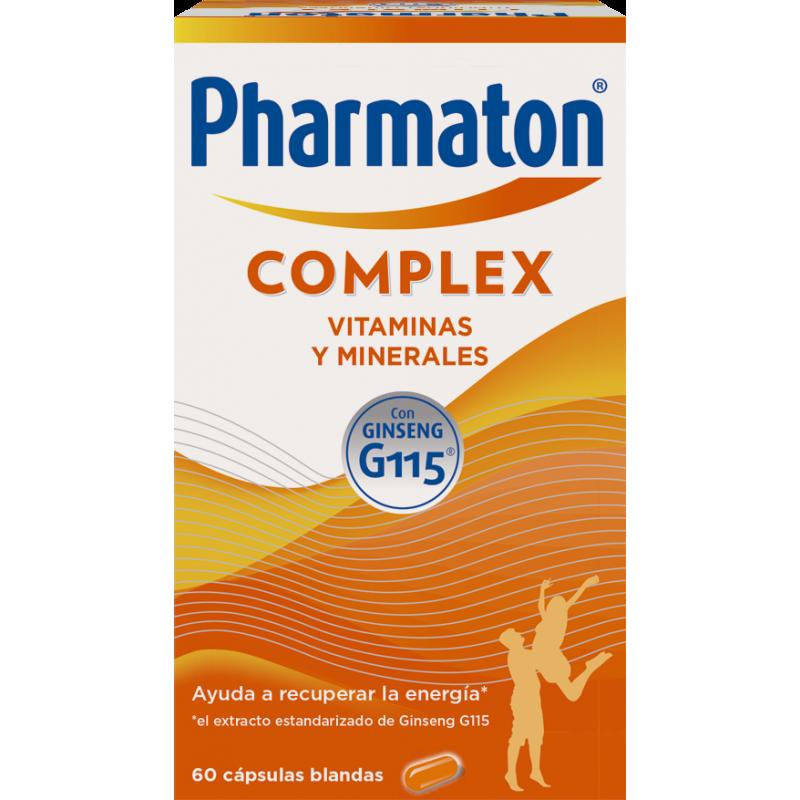 PHARMATON COMPLEX 60 CAPSULAS + 30 DE REGALO