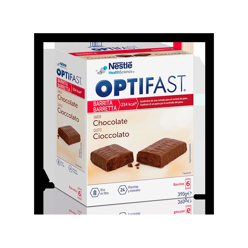 OPTIFAST BARRITAS   6Uds de 70 Gr. CHOCOLATE