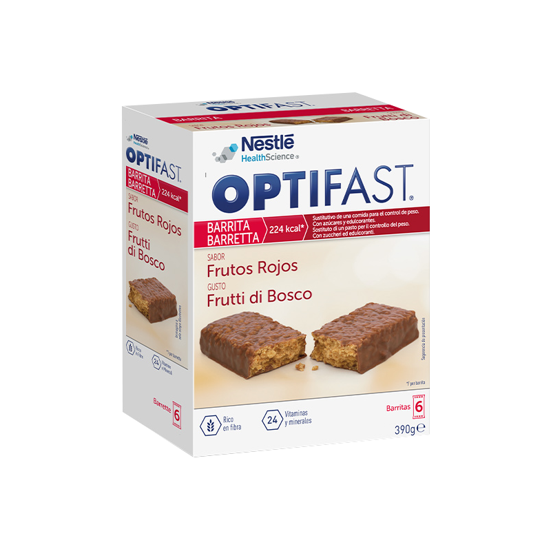 OPTIFAST BARRITAS   6Uds de 70 Gr. FRUTAS DEL BOSQUE