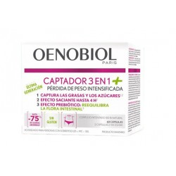Oenobiol Catcher 3 in 1 + 60 Kapseln