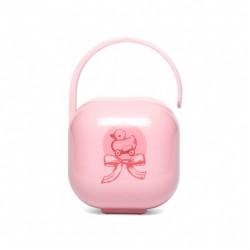 Suavinex portachupete rosa  pk