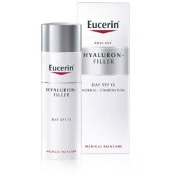 Eucerin Hyaluron Filler Day Cream SPF15 Peau normale/mixte 50ml