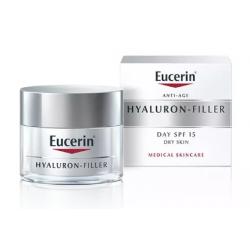 Eucerin Hyaluron Filler Tagescreme SPF15 Trockene Haut 50ml