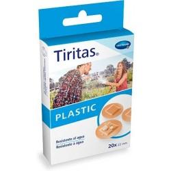 Tiritas Plastic Redondas Transparentes 22 mm 20 Uni