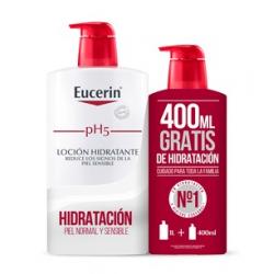 Eucerin pH5 Locion Hidratante 1000 ml + Gratis 400 ml