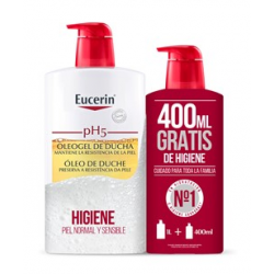 Eucerin pH5 Oleogel de Ducha 1000 ml + Gratis 400 ml