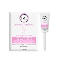Crème hydratante vaginale interne BeMD 8 canules à dose unique