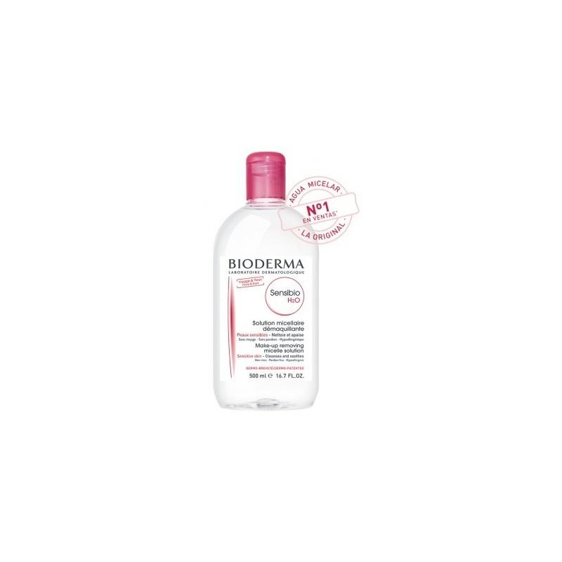 BIODERMA Sensibio H2O  Solución micelar específica piel sensible  promocional Frasco 500 ml
