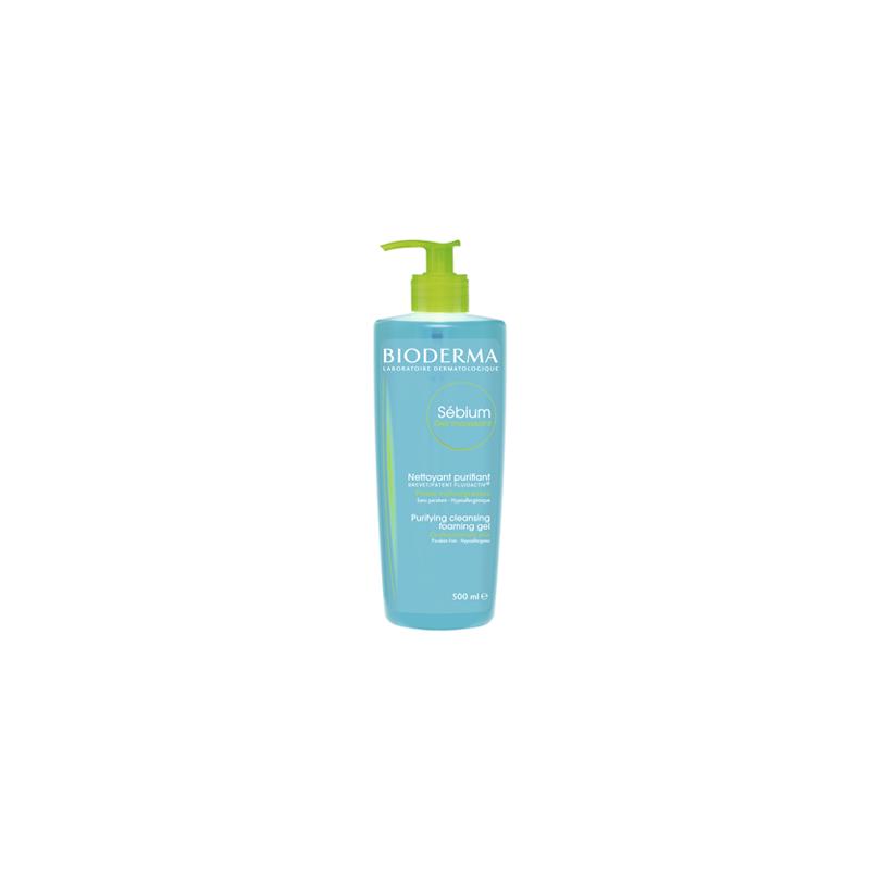 BIODERMA Sébium Gel Moussant  Limpieza específica sin detergente  Disp. 500 ml