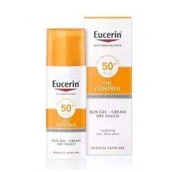 Eucerin Huile de crème de gel solaire Control Dry Touch SPF50 50ml