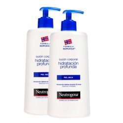 Neutrogena Dry Skin Body Lotion 750ml Duplo 2x750ml