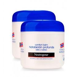 Neutrogena DUPLO Comfort balm hidratación profunda 300 + 300 ml