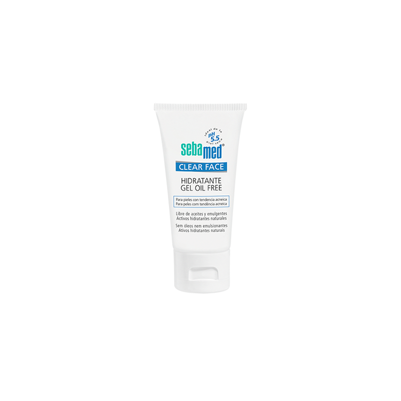 SM CLEAR FACE HIDRATANTE GEL OIL FREE 50 ml