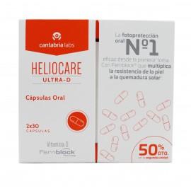 Heliocare Pack Ultra Gel Spf 90 + Endocare c 7 Ampoules et Endocare-C Peel Gel 3 Enveloppes Endocare c 7 Ampoules et Endocare-C